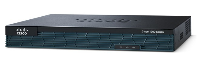 Cisco 1921 Ethernet LAN Multicolour wired router