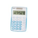 Genie 120 B calculator Pocket Display Blue, White