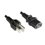 Microconnect PE110430 power cable Black 3 m Power plug type B C13 coupler