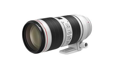 Canon EF 70-200 mm F 2.8 L IS III USM MILC/SLR Tele lens Black,White