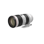 Canon EF 70-200 mm F 2.8 L IS III USM MILC/SLR Tele lens Black,White