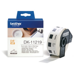 Brother DK-11219 P-Touch Etikettes, 12mm, 1200