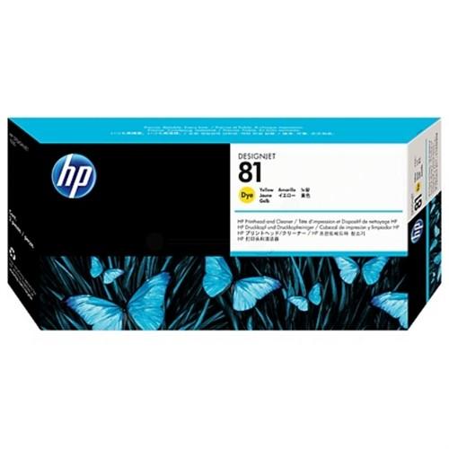 HP C4953A (81) Printhead yellow, 13ml