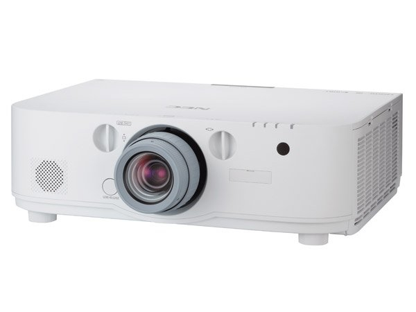 NEC PA572W Desktop projector 5700ANSI lumens 3LCD WXGA (1280x800) 3D White data projector