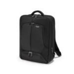 Dicota Eco PRO backpack Black Polyester, Polyethylene terephthalate (PET)