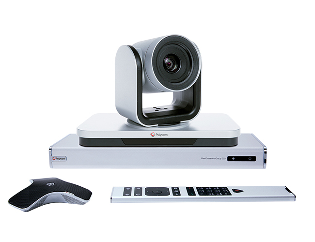 Polycom RealPresence Group 310-720p teleconferencing equipment