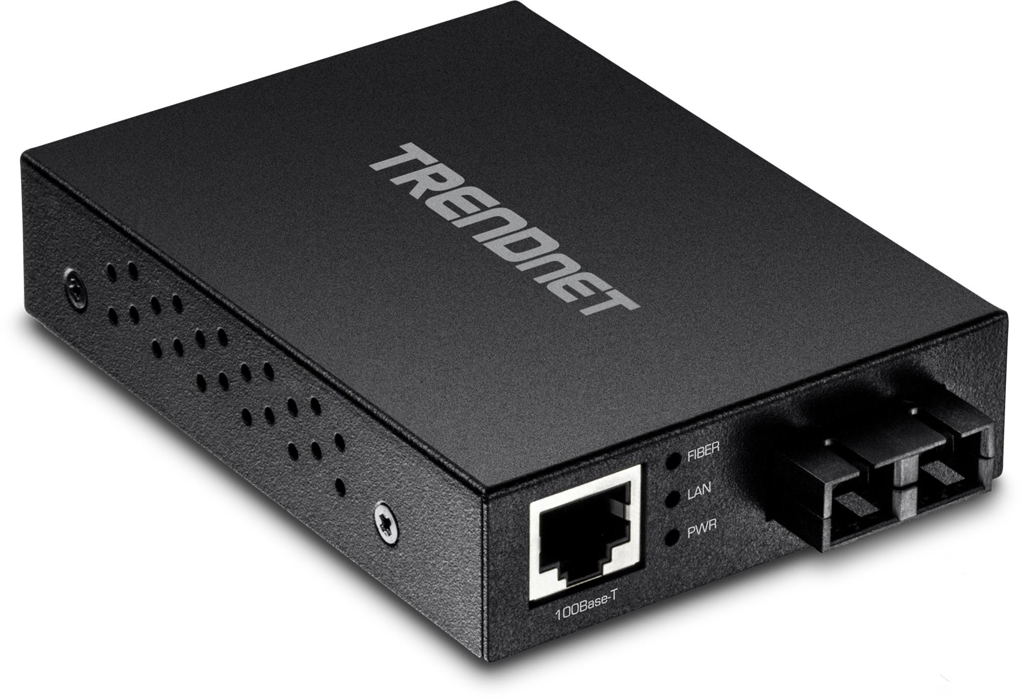 Trendnet TFC-FMSC convertidor de medio 200 Mbit/s 1310 nm Negro