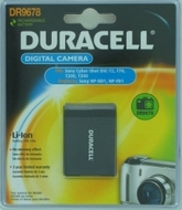 Duracell Digital Camera Battery 3.7v 650mAh 2.4Wh