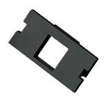 Cablenet 1 Port Keystone Housing (25mm x 50mm) Black
