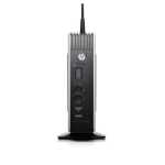 HP t510 Flexible Thin Client (ENERGY STAR) 1 GHz U4200 Windows Embedded Standard 7E 1.49 kg Black, Grey