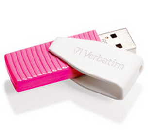 Verbatim Store 'n' Go Swivel 16GB 16GB USB 2.0 USB Type-A connector Pink USB flash drive