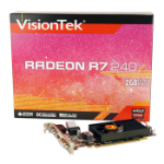VisionTek 900684 Radeon R7 240 2GB GDDR3 graphics card