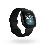 Fitbit Versa 3 AMOLED Black GPS (satellite)