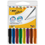 BIC Velleda 1748 Bullet tip Black,Blue,Brown,Green,Orange,Pink,Red,Yellow 8pc(s) marker