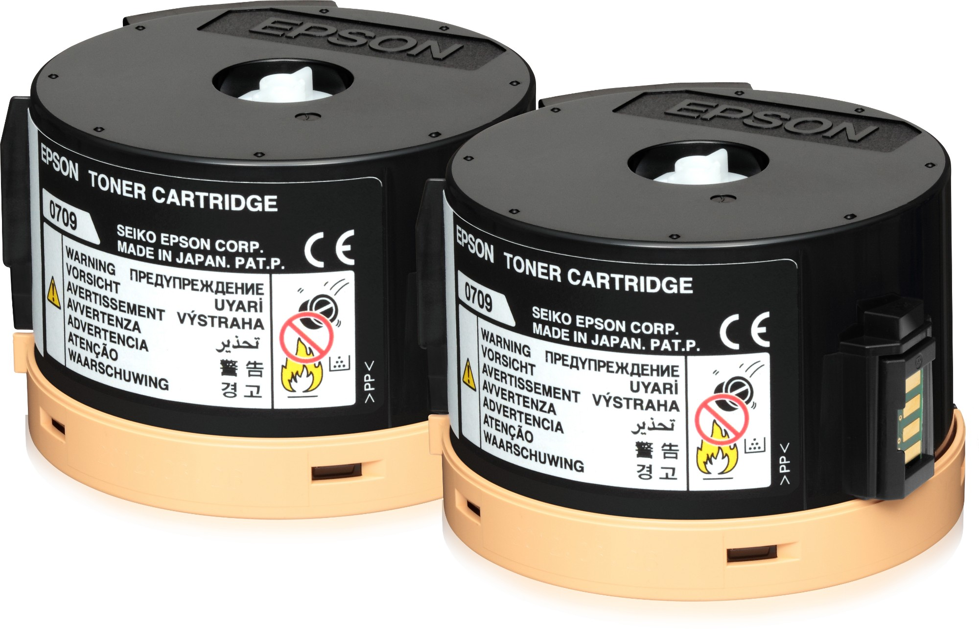 Epson Doble cartucho de tóner negro 2 x 2.5k