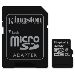 Kingston Technology 32GB microSDHC Class 10 UHS-I 45R Flash Card Far East Retail