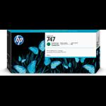 HP P2V84A (747) Ink cartridge green, 300ml