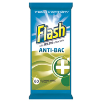 Flash computers STRONG WEAVE WIPES ANTIBAC PK60
