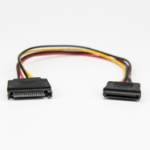 """Rocstor Y10C213-B1 SATA cable 12"""" (0.304 m) Black"""