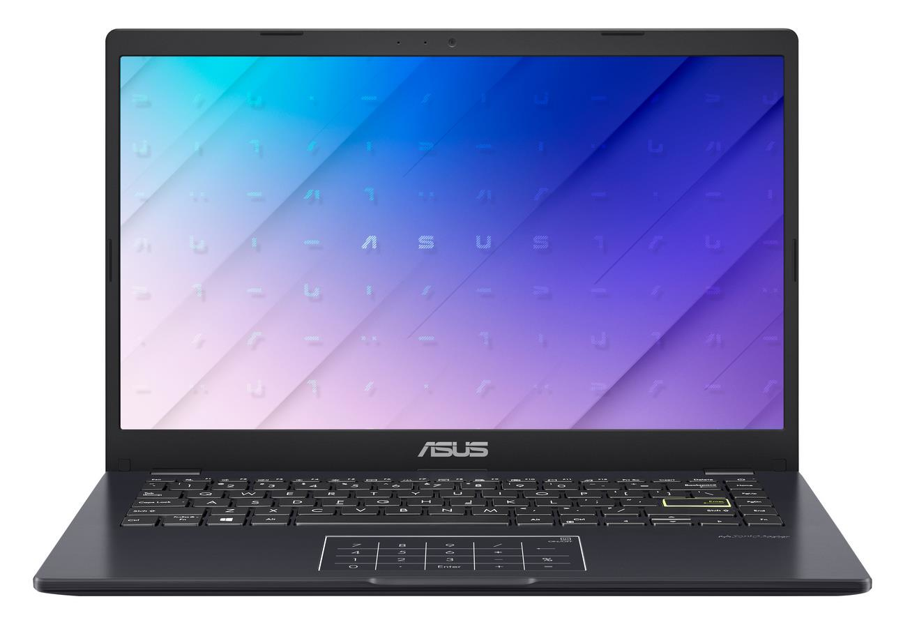 "ASUS E410MA-BV003TS notebook Blue 35.6 cm (14"""") 1366 x 768 pixels Intel® Celeron® N 4 GB DDR4-SDRAM 64 GB eMMC Wi-Fi 5 (802.11ac) Windows 10 Home S"