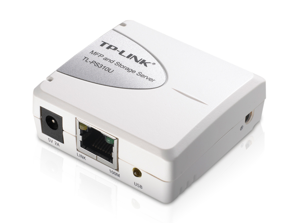 TP-LINK Single USB2.0 Print and Storage Server