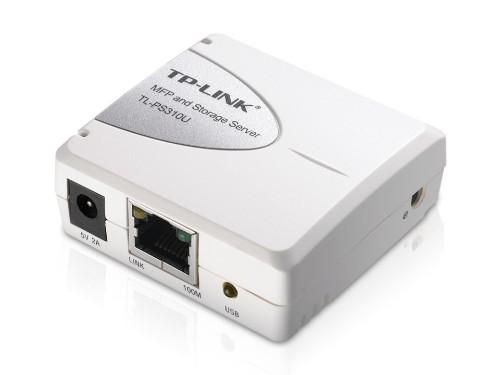 TP-LINK Single USB2.0 Port MFP and Storage Server print server Ethernet LAN