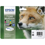 Epson C13T12854012 (T1285) Ink cartridge multi pack, 5,9 ml + 3x3,5 ml, Pack qty 4