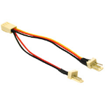 "C2G 3-pin Fan Power Y-Cable 4"" power cable"
