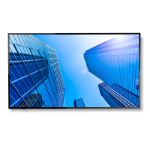 "NEC MultiSync E327 Digital signage flat panel 81.3 cm (32"") LED Full HD Black"