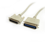 StarTech.com 10 ft DB25 to Centronics 36 IEEE-1284 Parallel Printer Cable - M/M printer cable