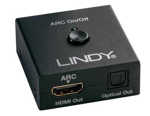 Lindy 38068 audio converter Black