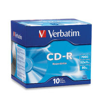 Verbatim CD-R 700mb CD-R 700MB 10pc(s)