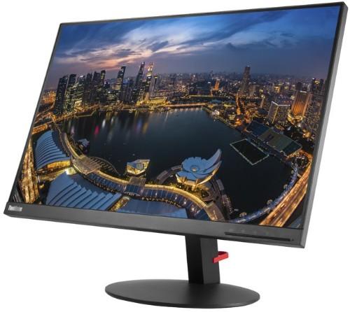 """Lenovo ThinkVision T24d LED display 61 cm (24"""") 1920 x 1200 pixels WUXGA Flat Black"""
