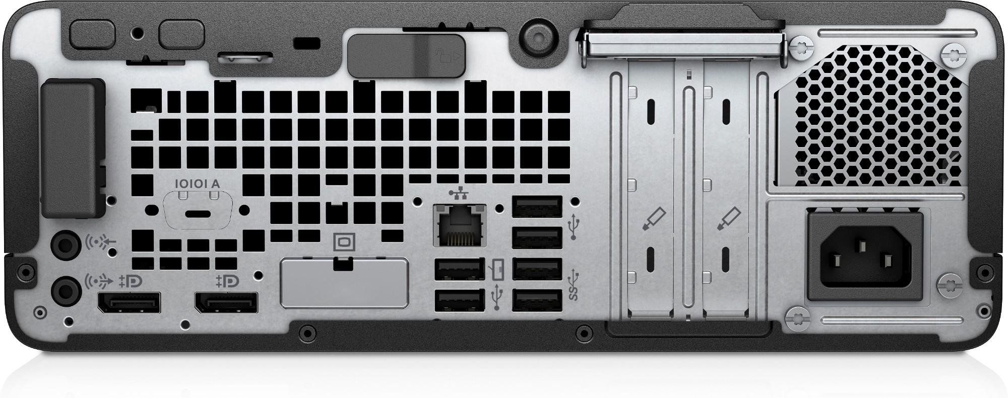 HP EliteDesk 705 G4 3 6 GHz AMD Ryzen 5 2400G Black,Silver SFF PC