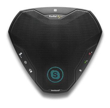 Konftel Ego speakerphone Black USB/Bluetooth