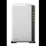 Synology DS216J NAS Desktop Ethernet LAN White storage server