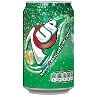 Britvic 7UP 330ML CANS PK24 3388