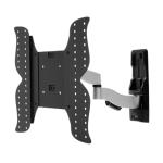 "Amer AMRWEX420 flat panel wall mount 139.7 cm (55"") Black,Stainless steel"