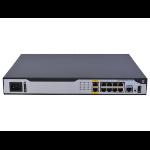 Hewlett Packard Enterprise FlexNetwork MSR1003 8 AC wired router Gigabit Ethernet Gray