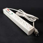 """C2G 16298 power extension 179.9"""" (4.57 m) 6 AC outlet(s) White"""