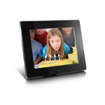"Aluratek ADMPF108F digital photo frame 8"" Black"