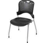 MooreCo Circulation Stacking Chair office/computer chair Hard seat Hard backrest
