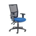 Arista High Back Mesh Task Chair Blue