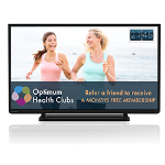 Toshiba 32J2433DB - Toshiba LED TV with HD Ready resolution & built in digital tuner for Freeview HD access