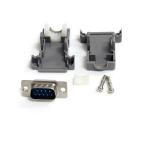 StarTech.com Conector D-SUB DB9 Serial Macho Ensamblado con Carcasa Plástica