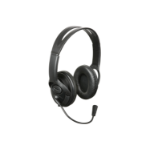 AV Link 500.060UK Black Circumaural Head-band headphone