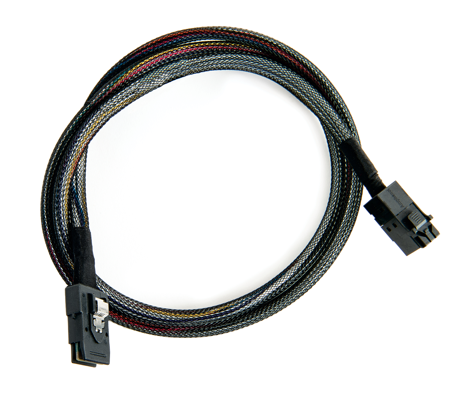Internal Mini SAS HD x4 (SFF-8643) to SCSI x4, ACK-I-HDmSAS-mSAS-1M Cable/ 0.5m