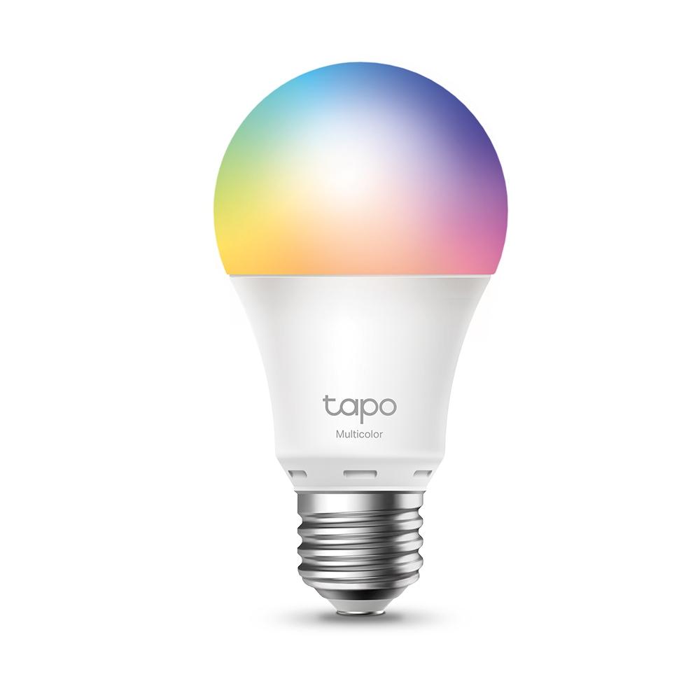 Tapo L530E iluminación inteligente Bombilla inteligente Metálico, Blanco Wi-Fi 8,7 W