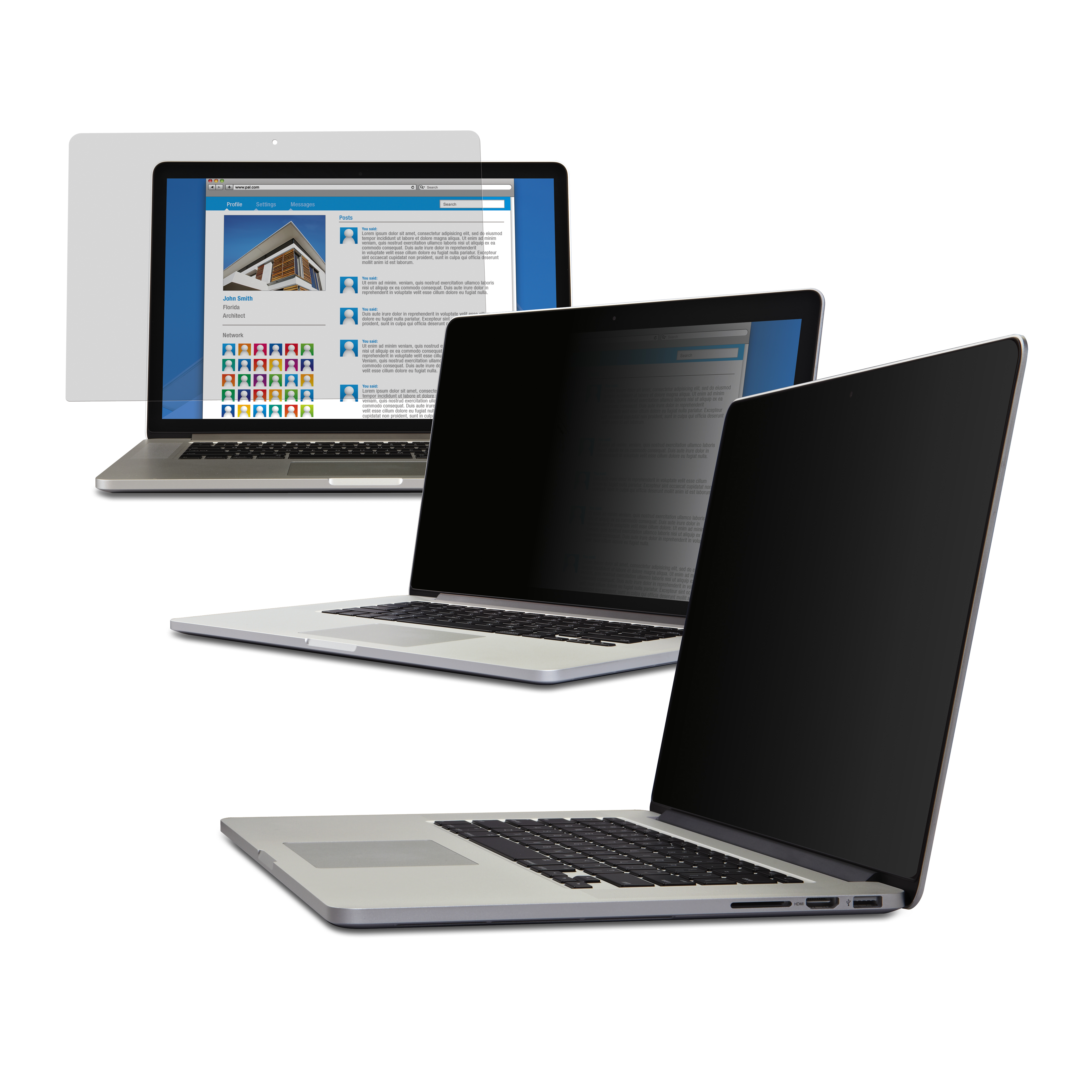 3M Privacy Filter for Apple MacBook Pro 13-inch with Retina display