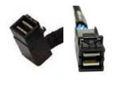 Intel AXXCBL650HDHRT Serial Attached SCSI (SAS) cable 0.65 m Black